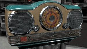 3d radio model