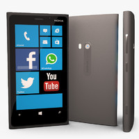 3d model nokia lumia 920