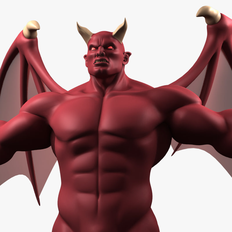 3d original demon ultra model