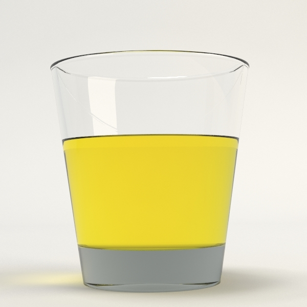 3ds max drinking glass