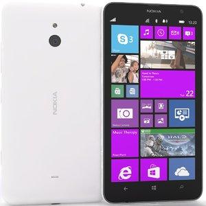 3ds nokia lumia 1320 white