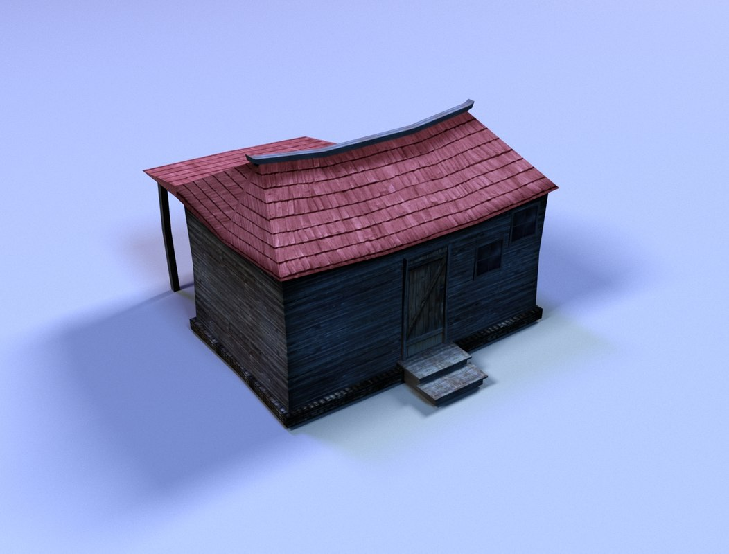 small old house 3d ma