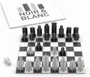 noir chess 3d model