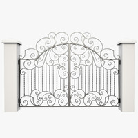 Wrought Iron Gate 30