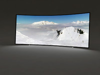 curved ultra tv hd 3d max