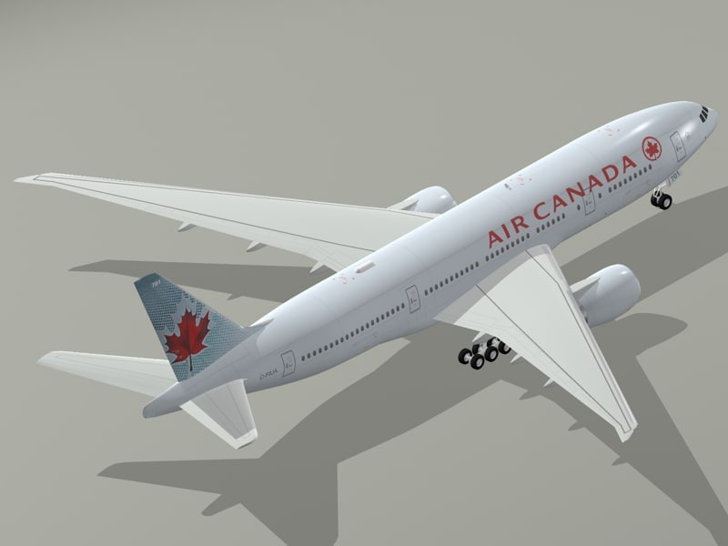 Boeing 777-200 LR Air Canada