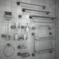 Bathroom Accessories set 1