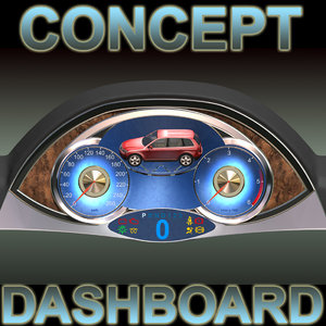 concept car dashboard max