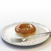3d model donut 05