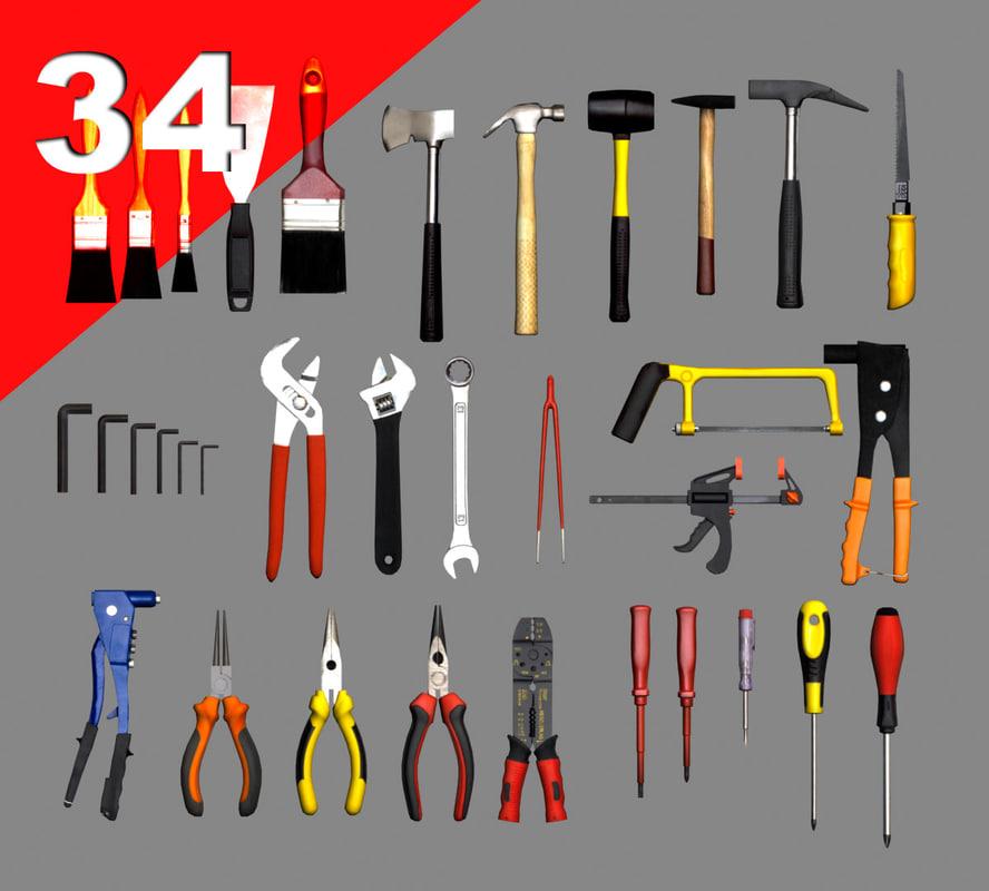 3d model tools games