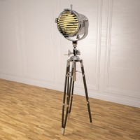 Tripod sealight floor lamp
