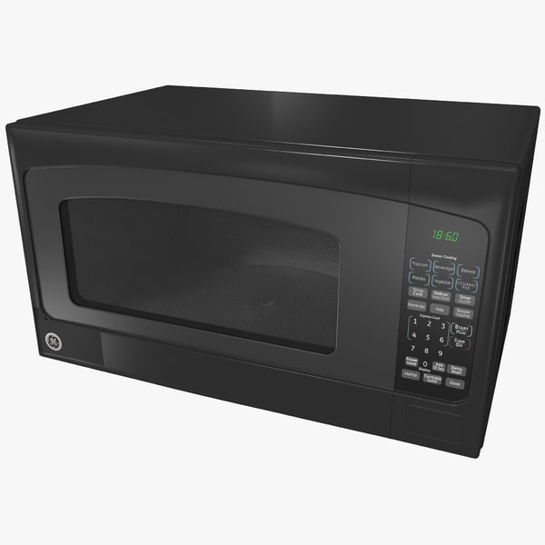 3d microwave oven ge