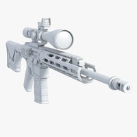 RSASS Remington Semi Automatic Sniper System