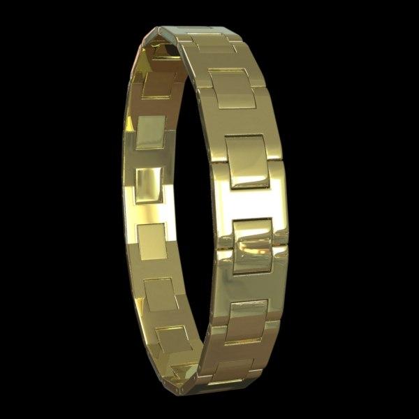 3d rigged bracelet