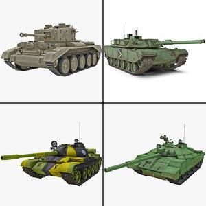 3d rigged tank