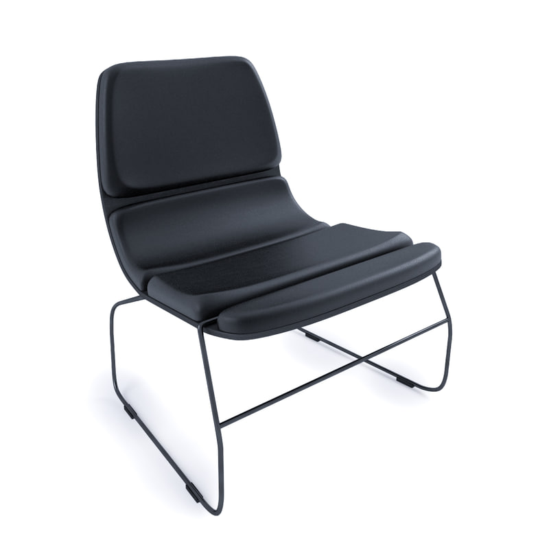 3d 3ds lounge chair