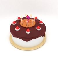 3d children cake