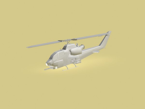 cobra helicopter 3d max