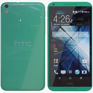 3d htc 816 green model