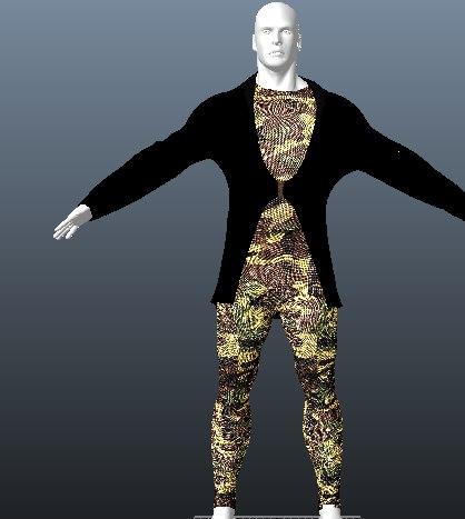 human 3d model