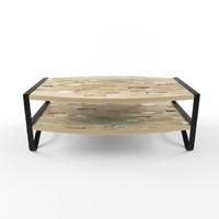 mudo caffee table 3d model