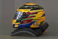 hamilton 2013 f1 helmet 3ds