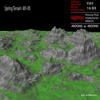 max spring terrain m1-05