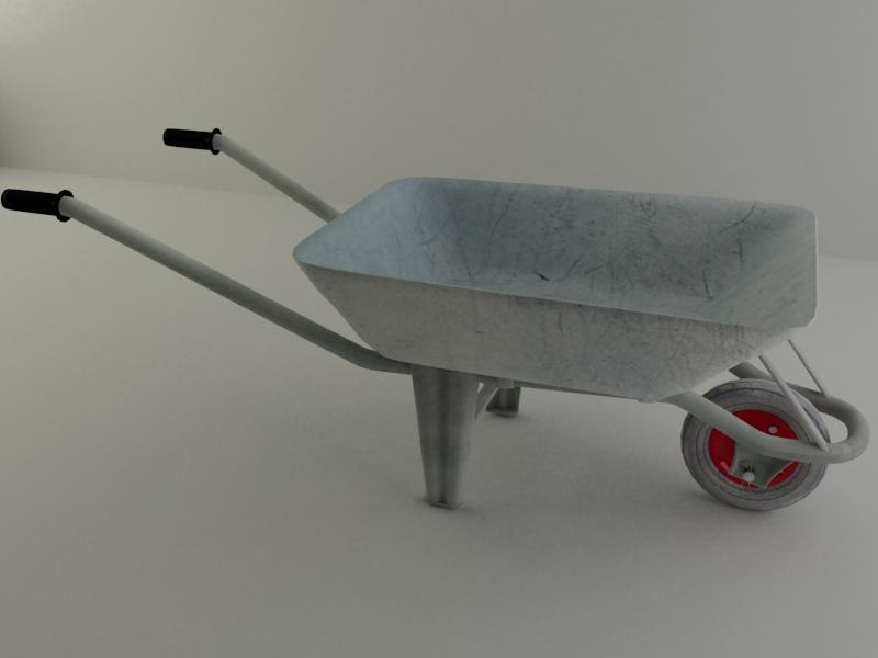 wheelbarrow 7 3d model