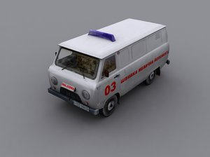 ambulance uaz 452 max