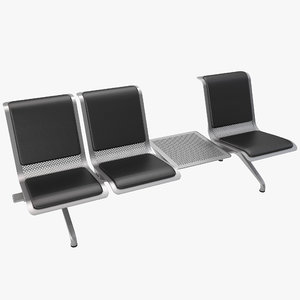 3ds max airport seating