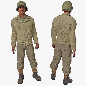 american wwii infantry soldier max
