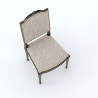 3d classic designed chair