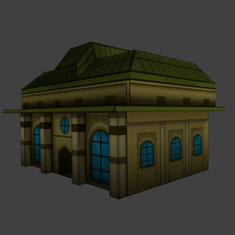 3d 3ds building