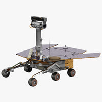 3d chinese lunar rover model