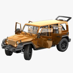 3d jeep wrangler moab 2013 model