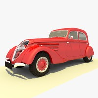 1939 Peugeot 302 Red