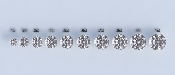 3d diamonds model