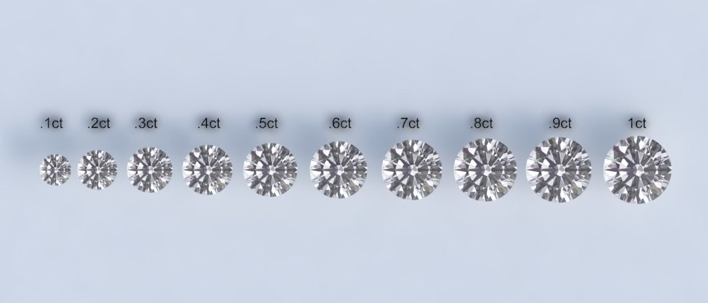 3d diamonds model