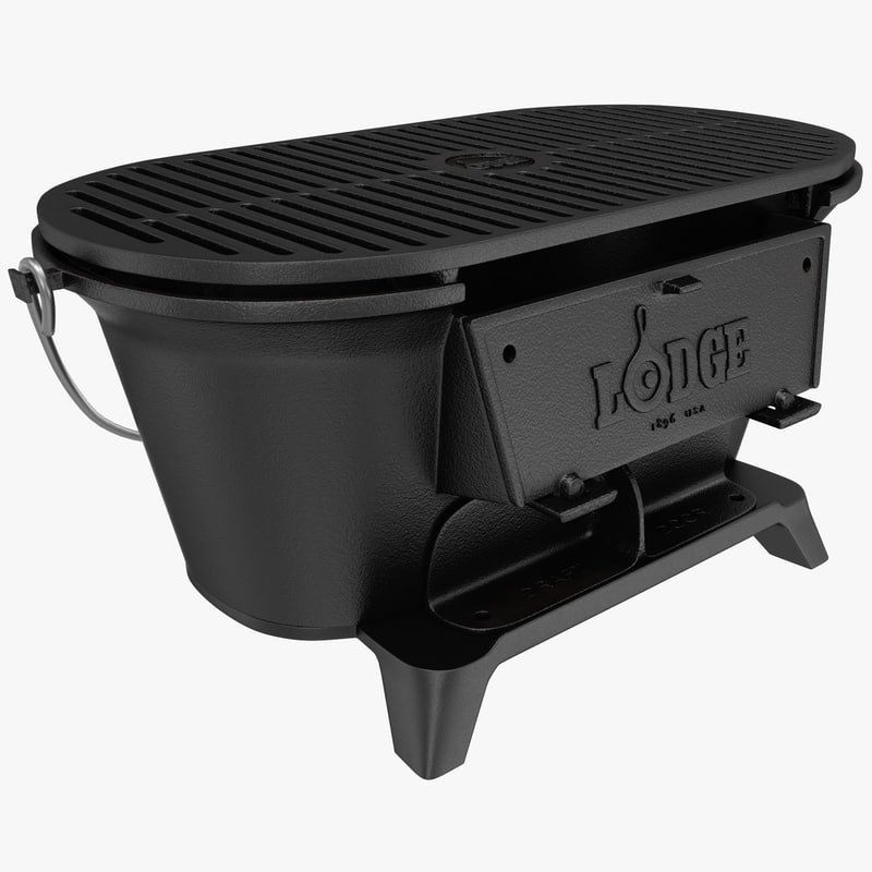 sportsmans charcoal grill lodge 3ds