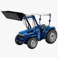 Tractor Loader Jinma 454 Blue
