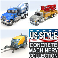 Concrete machinery pack 2