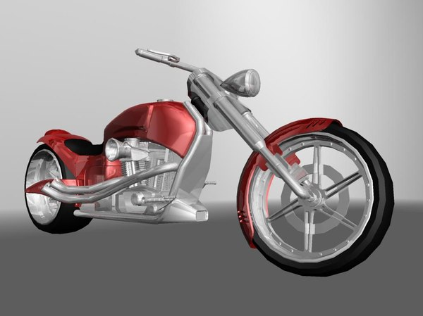 3d motorcycles customs
