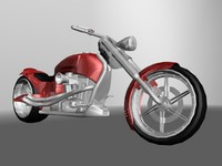 3d motorcycles customs