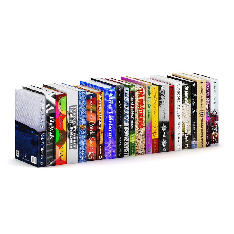 3d novel books