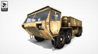3dsmax desert truck