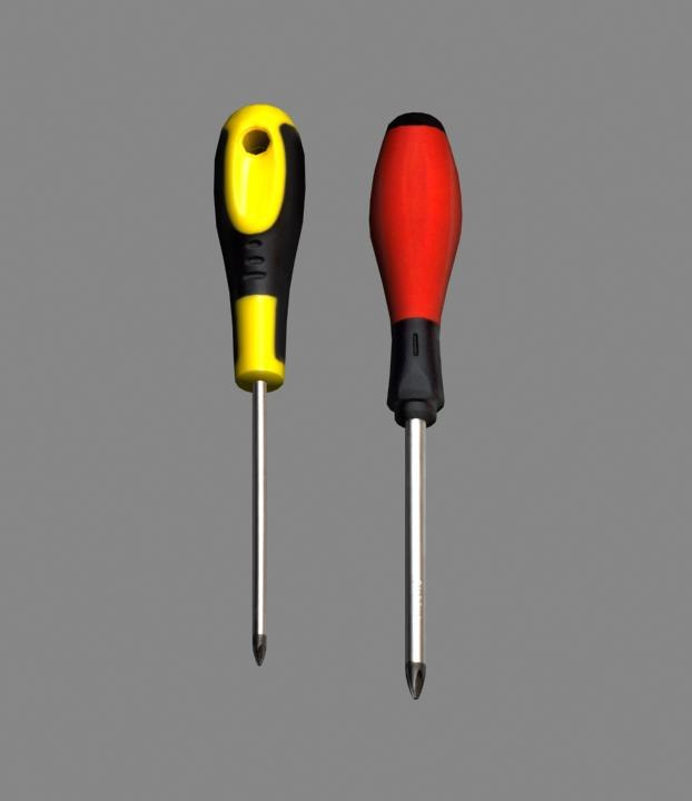 phillips screwdrivers 3d model