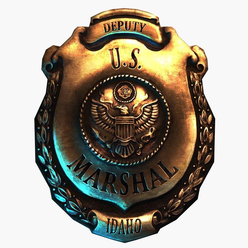 3d model deputy u s marshal