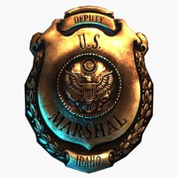 Deputy U.S. Marshal Badge 1