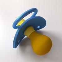 3d pacifier