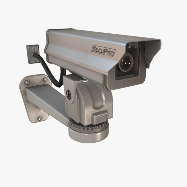 3d security camera polys